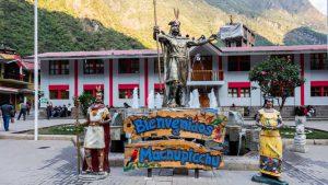 Aguas Calientes Machu Picchu town