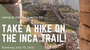 Inca Trail to Machu Picchu is Reopening
