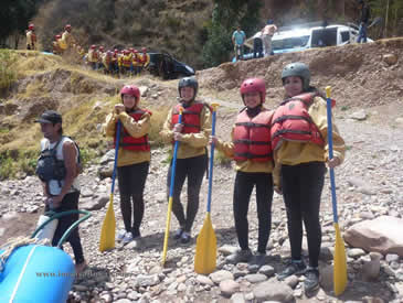 River Rafting Inca Trail