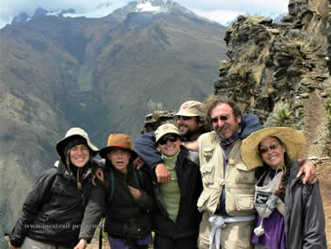 Inca Trail Hikers Peru