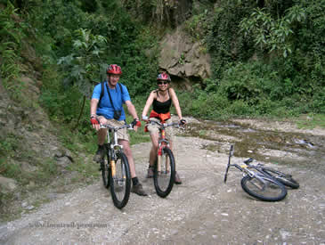 Inca Jungle Biking Peru