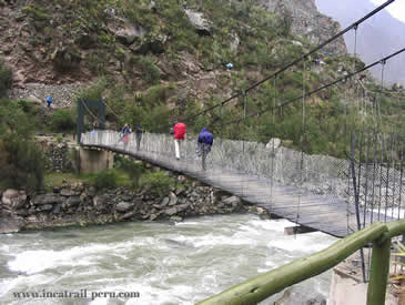 Bridge Inca Trail 4 Days