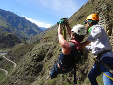 Inca Jungle Trek Zip Lining