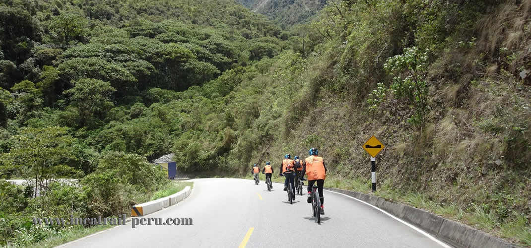 Inca Jungle Trek Biking