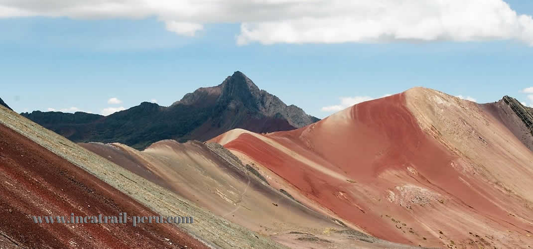 Rainbow Mountain Red Valley