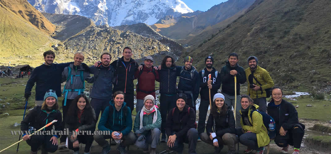 Salkantay Trek Group Shot